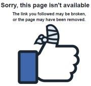 Facebook Broken Page