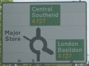 Southend-on-Sea Roadsign